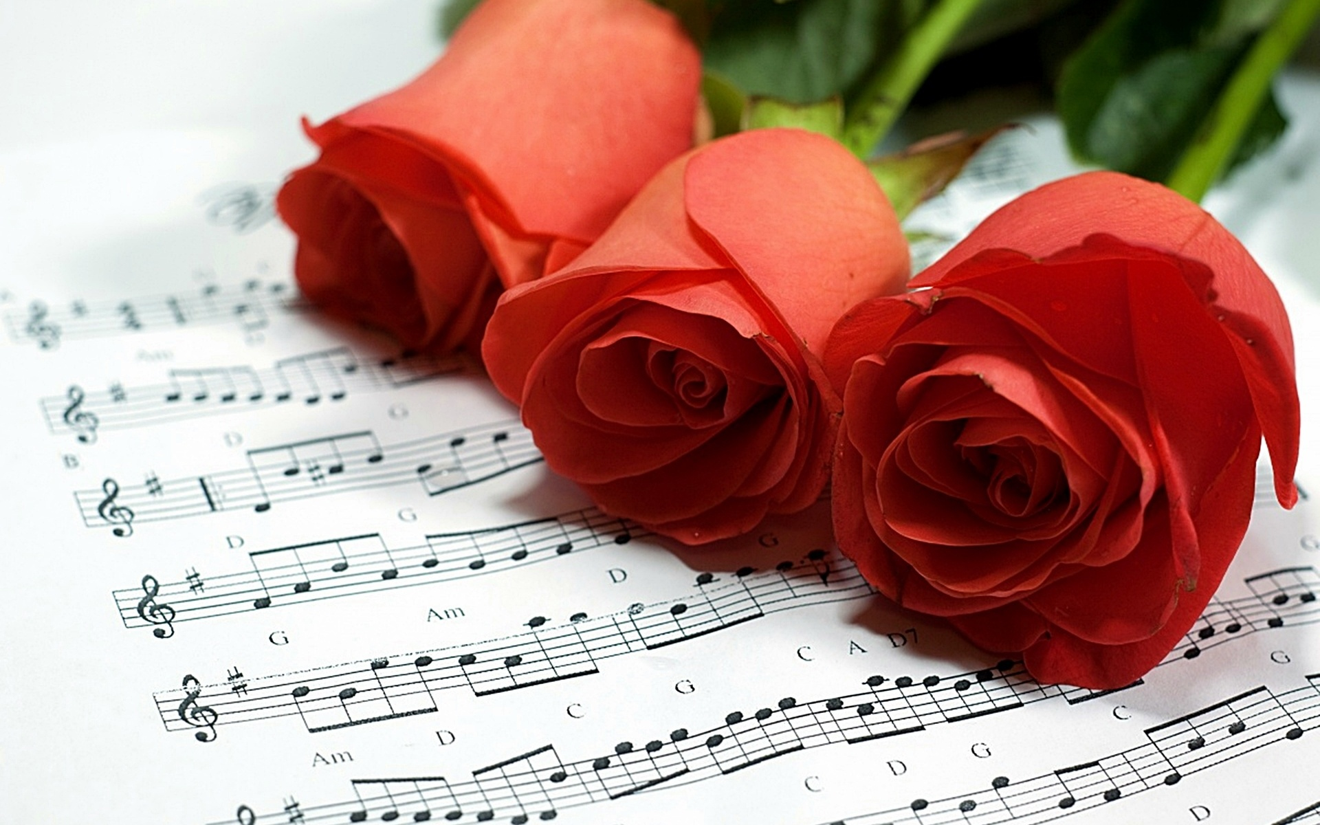 Открытки любовь и музыка