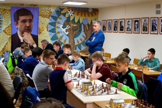 Шахматный турнир, посвященный празднованию Дня Победы