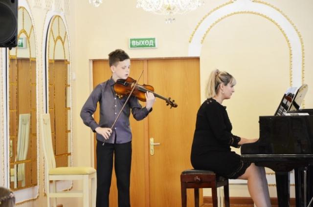 Отчетный концерт струнно–смычкового отделения