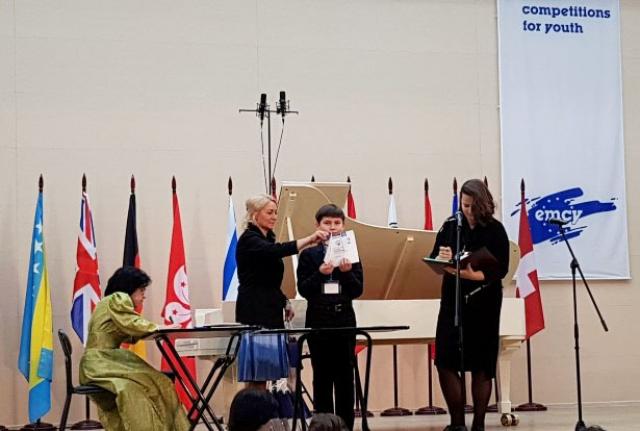 12-й международный конкурс юных пианистов «СТУПЕНЬ К МАСТЕРСТВУ»