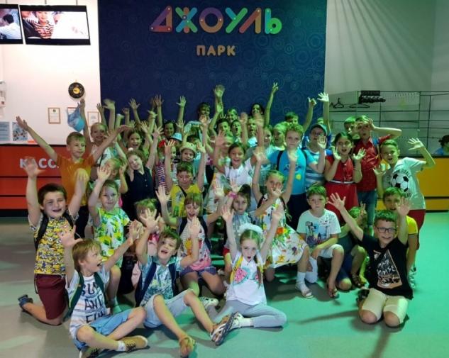 Юные театралы завершили учебный год посещением научной лаборатории с нереальным ШОУ!
