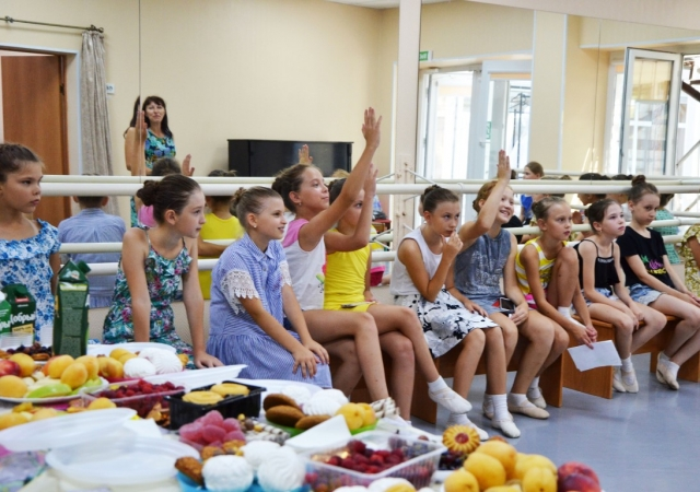 Летний праздник на отделении хореографии