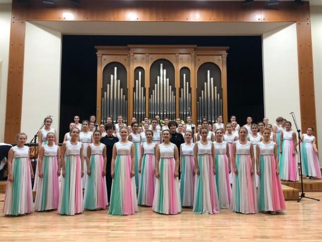 Концертный хор МЭЦ - участник церемонии открытия 39-х Международных Ганзейских дней (г.Псков)