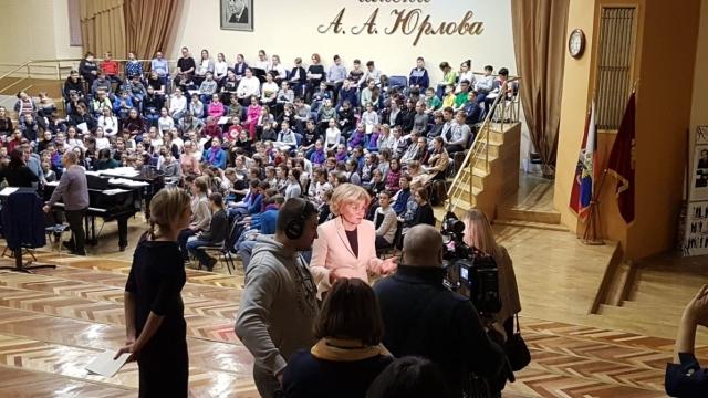 Концертный хор МЭЦ в Кремлёвском Дворце!
