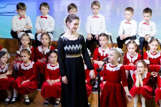 Отчетный концерт хора «Веселые нотки»