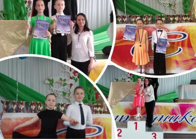 Победа в Открытом Российском турнире по танцевальному спорту