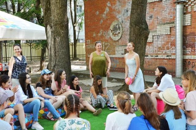 Большой праздник на отделении ИЗО - барбекю-party на открытом воздухе