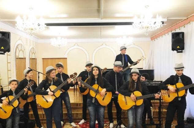 Отчетный концерт отделения гитары