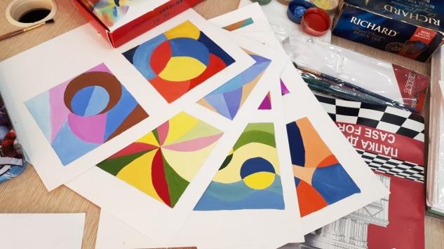 Цветовые сочетания в дизайне