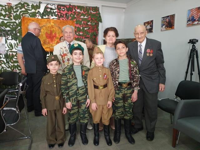 Поздравление ветеранов в редакции газеты «Комсомольская правда»