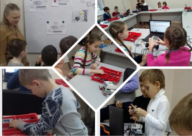 """Открытые занятия для родителей учащихся МЭЦ по программе """"Робототехника"""""""