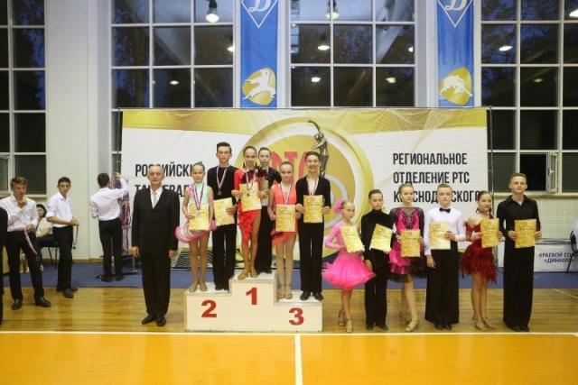 Победа в Открытом региональном Чемпионате среди исполнителей спортивного бального танца