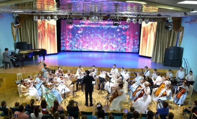 Отчетное выступление симфонического оркестра