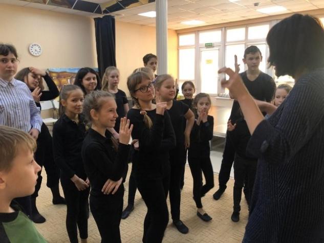 Мастер-класс для юных театралов МЭЦ