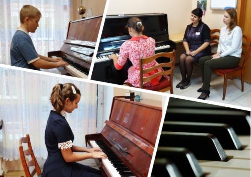 Технический зачет на отделении фортепиано